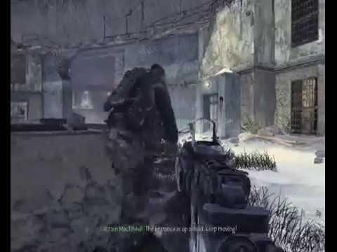 Call of Duty: Modern Warfare 2. Gameplay (The Gulag, Rescue Prisoner #627)