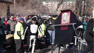 2012 Nemo 500 Outhouse Race Turd Place Finishers.