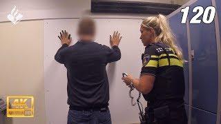 Politie Den Haag, aanhouding vernieling op heterdaad. Op bezoek bij Waddinxveen 👮