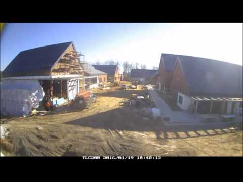 Time-lapse of construction work at The Maryland School for the Blind