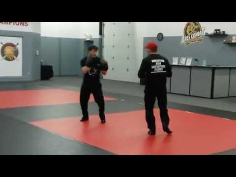 Ares Combat MMA Boxing to Wrestling Technique