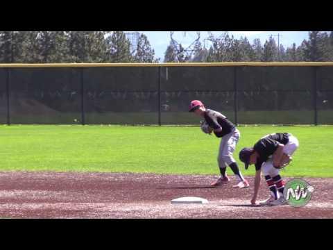 Elijah Hainline class of 2021 baseball prospect video shortstop BASEBALL NORTHWEST