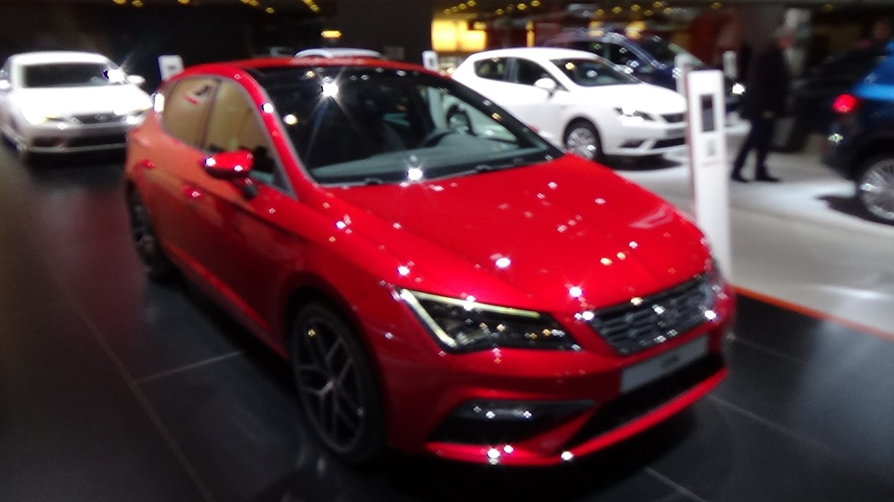 2017 seat leon fr exterior and interior auto show brussels 2017 youtube. Black Bedroom Furniture Sets. Home Design Ideas