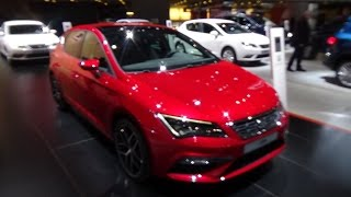 2017 Seat Leon FR - Exterior and Interior - Auto Show Brussels 2017