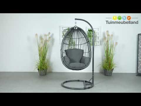 Hangstoel Egg Chair Wit.Panama Swing Egg Merk Garden Impressions Collectie 2019 Youtube