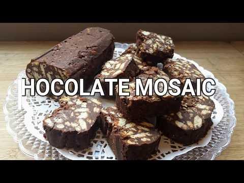 CHOCOLATE MOSAIC (MOSAIKO) KORMOS SOKOLATAS ME COGNAC