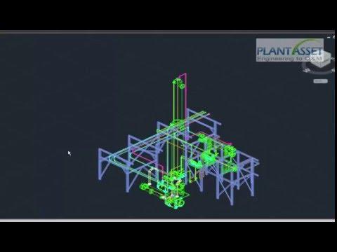 AutoPLANT 3D_ AutoRemodeling E3D(PDMS) to AutoPlant