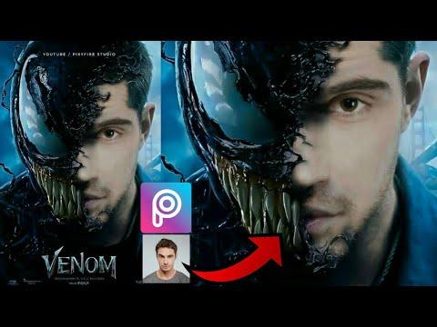 Picsart Editing   Edit Venom Movie Poster In Picsart   PicsArt Editing Tutorial 2018