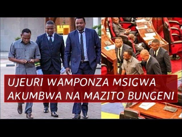 Maskini!! Jeuri,  Kiburi Vyamponza Msigwa Akumbwa na Balaa Jingine  Baya Bungeni Lema Amlilia