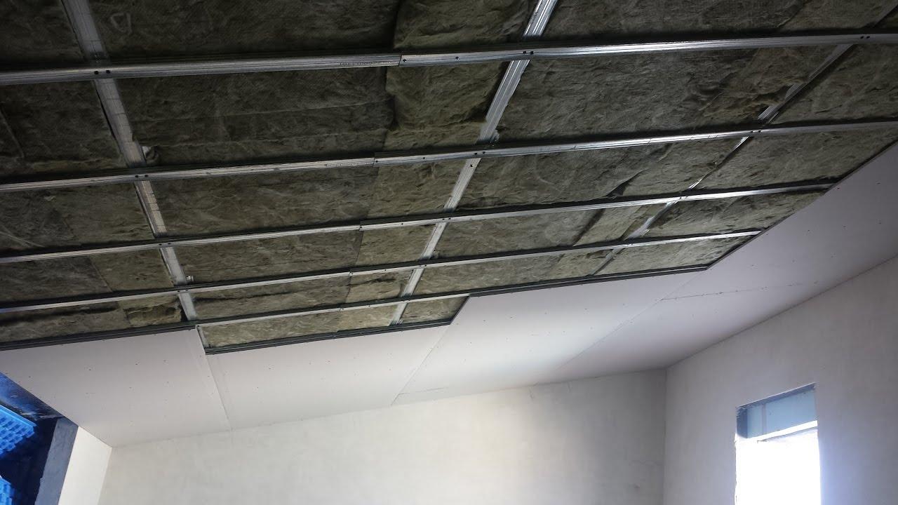 Aislar buhardilla techo pladur explicado youtube - Como colocar pladur en techo ...
