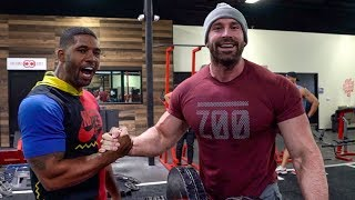 MOST EPIC BODY TRANSFORMATION... DAY 1 w/ THE REAL TARZAN !