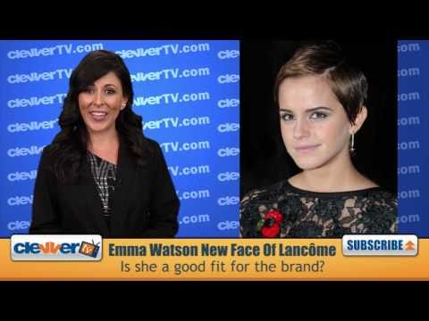 Emma Watson Named New Face of Lancome