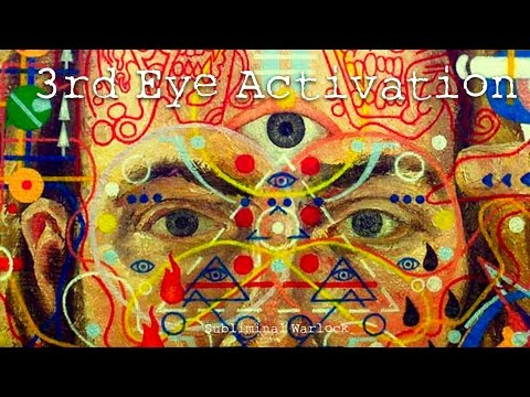 OPEN YOUR 3RD EYE NOW! Subliminal Binaural Beat Frequency Meditation