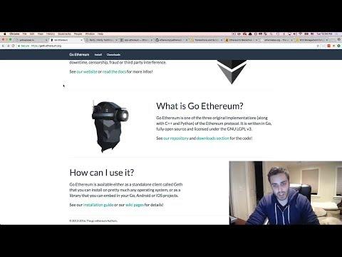 Ultimate Intro to Ethereum Ðapp Development [Part 21] - Installing Geth