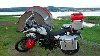 Motorrad-Tour Norwegen (Köln - Nordkapp) - Teil 1 (Aufbruch)
