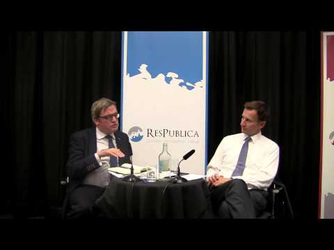 In Conversation with Jeremy Hunt MP | ResPublica at the 2015 Conservative Conference