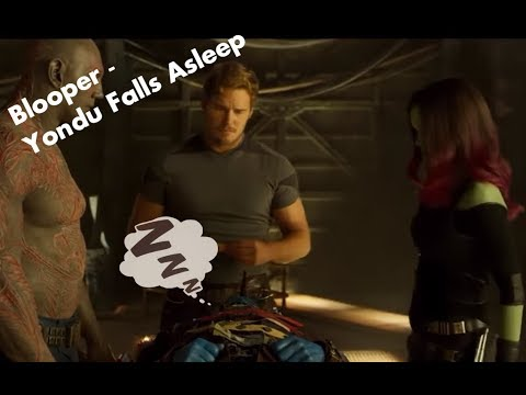 GUARDIANS OF THE GALAXY VOL. 2 HD Blooper  Yondu Falls Asleep 2017  Michael Rooker
