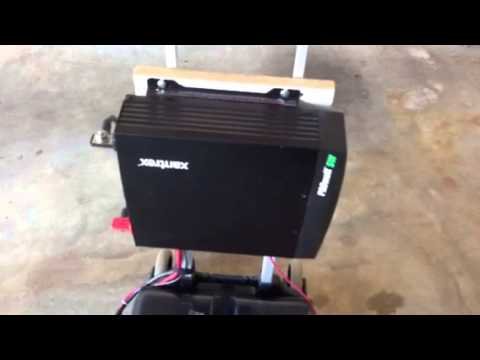 ... - Revised Home Built 1800w Portable Solar Backup Generator - YouTube