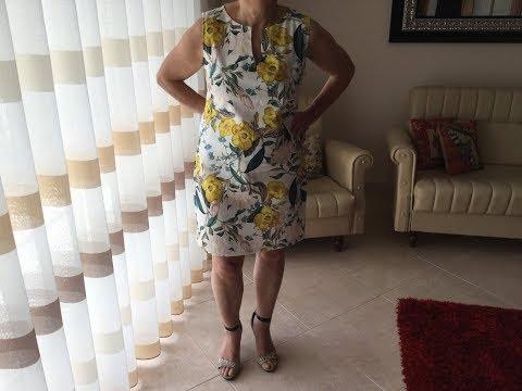 Coudre une Robe droite - Tuto Couture Madalena