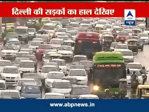 Heavy downpour in Delhi leads to traffic jams, Met predicts rains till Saturday