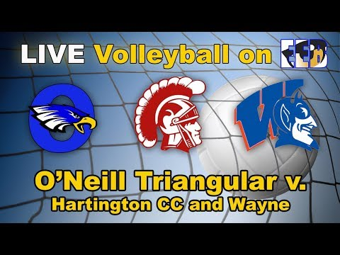 O'Neill Volleyball Triangular LIVE v. Hartington CC and Wayne