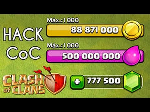 CLASH OF CLANS HACK PARA IOS SIN ROOT
