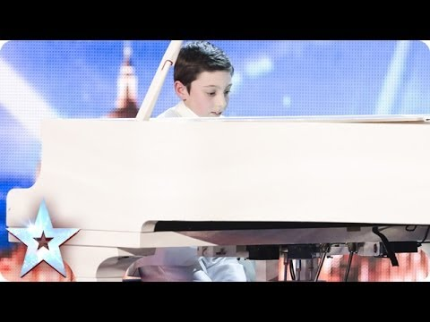 Piano-playing wonderkid Curtis Elton plays us a tune | Britain's Got Talent 2014