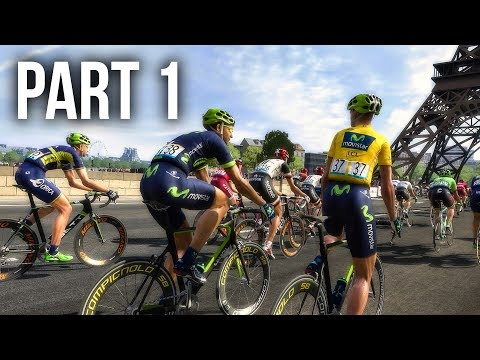 LE TOUR DE FRANCE 2017 Gameplay Walkthrough Part 1 – I BLEW OUT