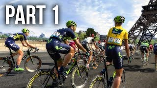 LE TOUR DE FRANCE 2017 Gameplay Walkthrough Part 1 - I BLEW OUT