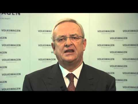 Martin Winterkorn speaks about Volkswagen emissions fraud