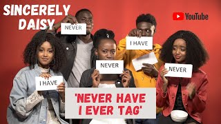Sincerely Daisy Cast Play 'Never Have I Ever' Tag