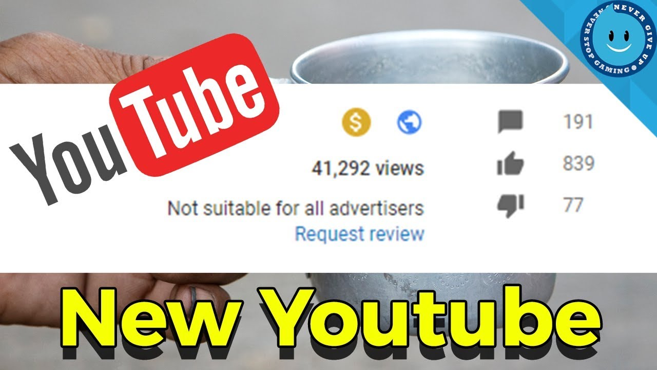 how to tell if a youtube video is demonetized
