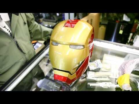 Ironman mask Dx review by CRW-airsoft.com