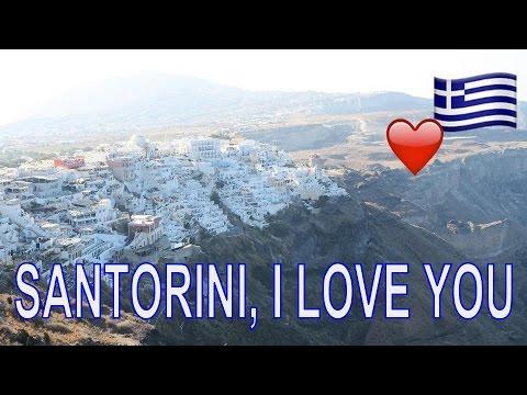 SANTORINI, I LOVE YOU + ANNOUNCEMENT