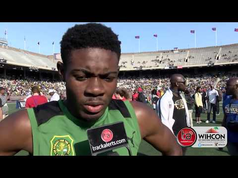 Calabar promises to lower own world record