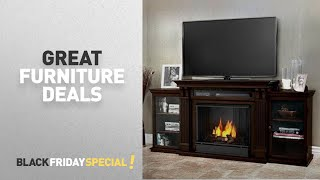 Black Friday Furniture Deals By Real Flame // Amazon Black Friday Countdown