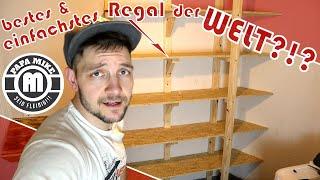 Holz Regal selber bauen │ ganz einfach?!?