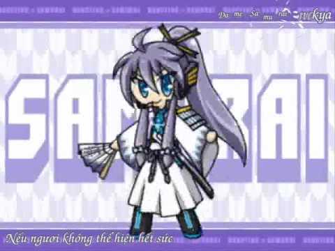 VnsharingKamui Gakupo  Dancing Samurai  Vocaloid Vietsub