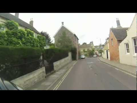 A Ride Through Malmesbury, Wiltshire