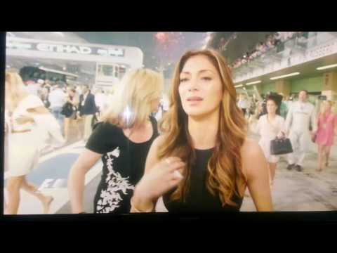 Nicole Scherzinger thanks God for Lewis Hamilton's great F1 win