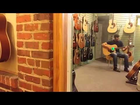 Acoustas Melody-G played by Clark Hedgepath Richmond VA Guitar Works in Carytown