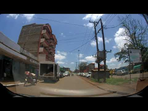 Past Thindigua, Past JK Prison Kiambu, Past the left side of Kiambu Town towards Ndumberi road.