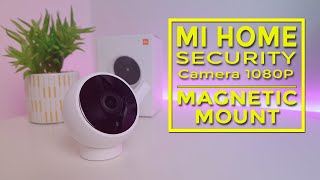 Mi Home Security Camera 1080P (Magnetic Mount) - with AI Face Recognition