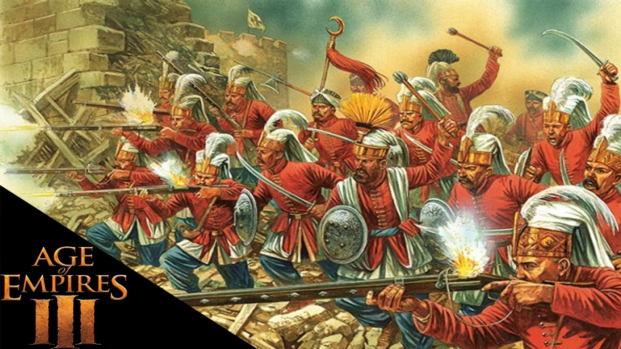 Age Of Empires 3 Invincible Janissaries Age Of Empires
