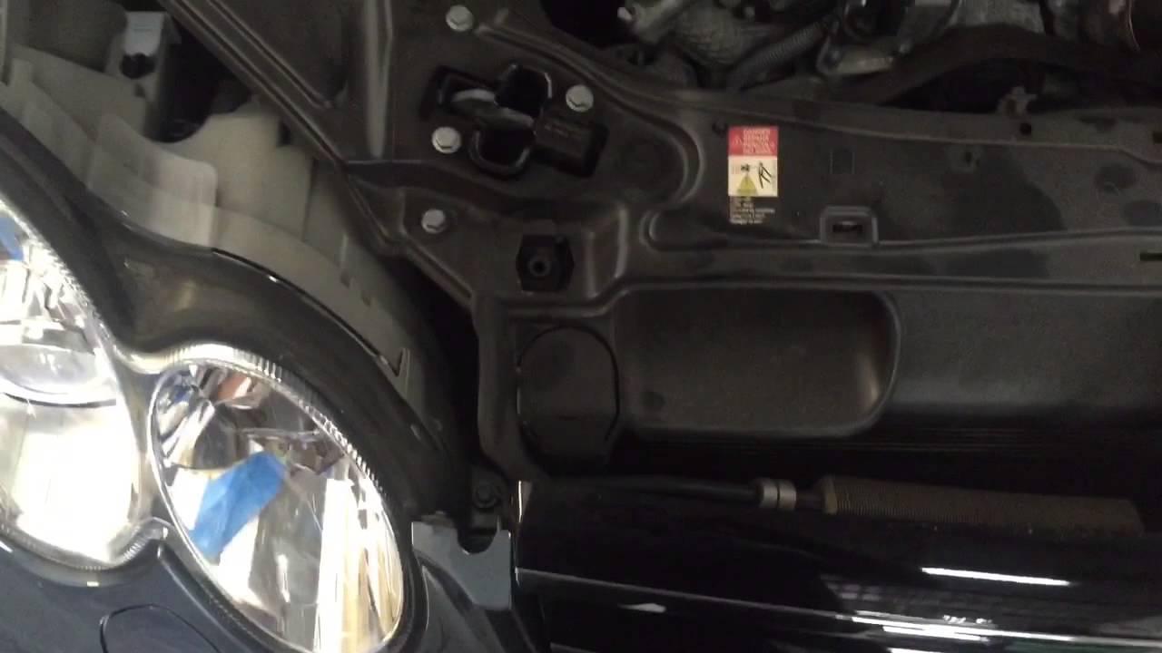 Mercedes Benz Ac Repair High Pressure Ac Hose On 2006
