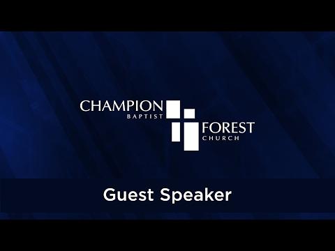 Guest Speaker - Alister McGrath