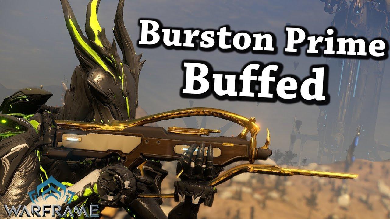 Burston Prime Warframe Build