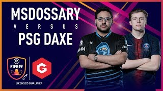 Msdossary vs PSG DaXe | XBOX Final | #GfinityFIFA Series March LQE