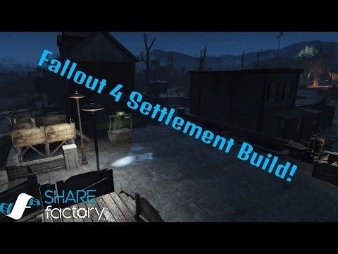 Fallout 4 Settlement bulding #1 Jamacia Plain