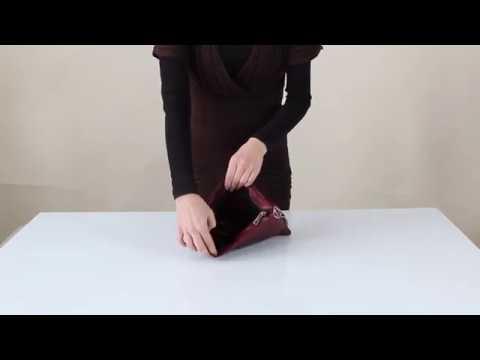 6770d195518e Женская кожаная сумка-клатч ETERNO (ЭТЕРНО) ETK0227-17 - YouTube